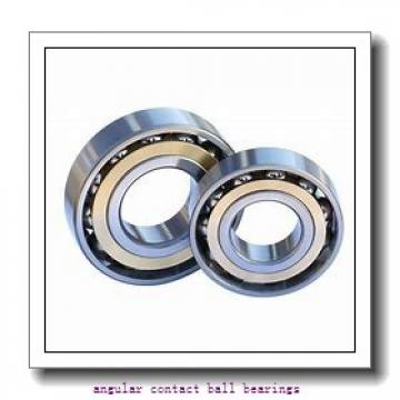 40 mm x 84,02 mm x 38 mm  40 mm x 84,02 mm x 38 mm  Fersa F16066 angular contact ball bearings