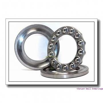 INA D8 thrust ball bearings